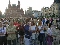 Red Square Crowds