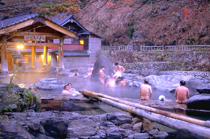Onsen Japan Hot Springs - Indoor man made beach japan incredible