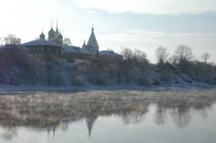 Москва-река не замезает даже в -20